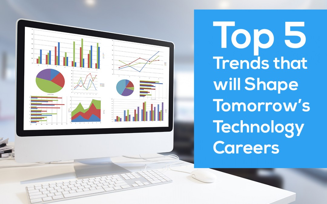 Top 5 Trends that will Shape Tomorrow's Technology Careers